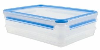 EMSA Набор из 2 контейнеров CLIP & CLOSE 508557