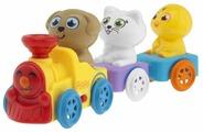 Интерактивная развивающая игрушка Chicco Музыкальный поезд
