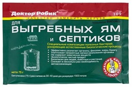 Доктор Робик Биоактиватор 109 0.075 кг