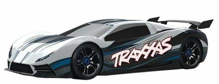 Легковой автомобиль Traxxas XO-1 TSM (64077-3) 1:7 68.6 см