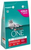 Корм для стерилизованных кошек Purina ONE для профилактики МКБ, с говядиной и с пшеницей