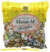 Леденцовая карамель МАЛВИКЪ Мини-М ассорти 180 г