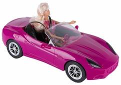 Кукла Defa Lucy В автомобиле 28 см 8228