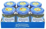 Пюре Бабушкино Лукошко цветная капуста (с 4 месяцев) 100 г, 6 шт.