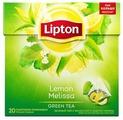 Чай зеленый Lipton Lemon Melissa в пирамидках