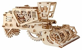 Сборная модель UGEARS Комбайн