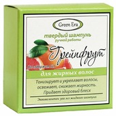 Green Era твердый шампунь Грейпфрут, 55 гр