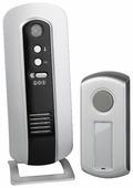 Звонок с кнопкой ЭРА C108 электронный беспроводной (количество мелодий: 6)