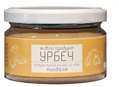 Живой Продукт Урбеч натуральная паста из ядер миндаля
