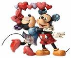 Enesco Микки и Мини Маус с сердечками 4046038