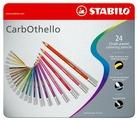 STABILO Пастельные карандаши Carbothello 24 цвета (1424-6)