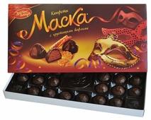 Набор конфет Красный Октябрь Маска с хрустящими вафлями 300 г