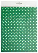 Цветной картон с тиснением Сердечки Апплика, A4, 4 л.
