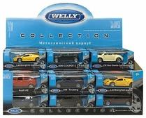 Машинка Welly 52020 в ассортименте 1:60