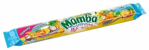 Жевательная конфета Mamba Тропикс 106 г
