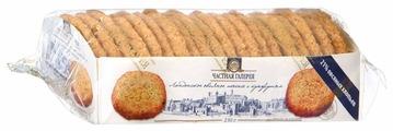 Печенье Частная Галерея лондонское овсяное с кунжутом, 210 г