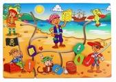 Головоломка Мастер игрушек Лабиринт Дети-пираты (IG0186)