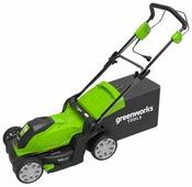 Газонокосилка greenworks 2505207 GLM1241