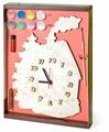 Бэмби Набор для росписи Часы с циферблатом Домик (ДНИ113)