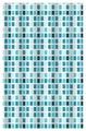 Штора для ванной Vanstore Mosaic (630-04) 180х180