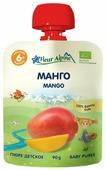 Пюре Fleur Alpine манго (с 6 месяцев) 90 г, 1 шт.