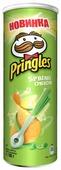 Чипсы Pringles картофельные Spring onion