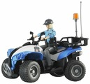 Квадроцикл Bruder Police-Quad (63-010) с фигуркой 1:16
