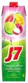 Напиток сокосодержащий J7 Манго-Гуава-Лайм-Личи, с крышкой, без сахара