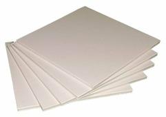 Цветной картон пенокартон 3 мм, 560 гр/м2 Decoriton, 50х65 см, 5 л.