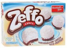 Пирожное Sweet Plus Zeffo маршмеллоу с кокосом