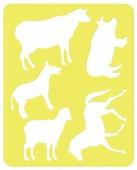 Трафарет СТАММ Домашние животные (ТТ92)