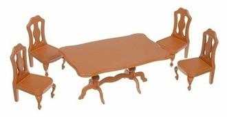 Игровой набор ABtoys Счастливые друзья - мебель для столовой PT-00302