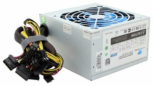 Блок питания PowerCool ATX-400W-APFC 400W