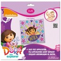 D&M Набор для создания аппликации Маленькая путешественница Dora (65134)