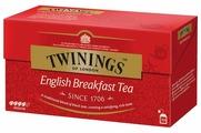 Чай черный Twinings English breakfast в пакетиках
