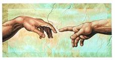 """Schipper Картина по номерам """"Сотворение Адама"""" 40х80 см (9220421)"""