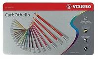 STABILO Пастельные карандаши Carbothello 60 цветов (1460-6)