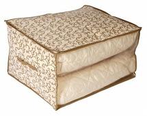 HAUSMANN Кофр для хранения одеял AA003 60х50х35 см.