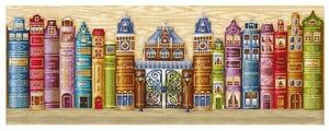 Сделай своими руками Набор для вышивания крестиком Королевство книг 77 х 28 см (К-30)