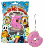 Игрушка-мялка 1 TOY Мини-пончик в глазури Т12412