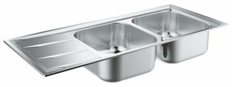 Врезная кухонная мойка Grohe K400 31587SD0