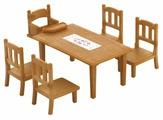 Игровой набор Sylvanian Families Обеденный стол с 5-ю стульями 2933/4506