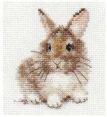 Алиса Набор для вышивания крестиком Крольчонок 9 x 5 см (0-170)