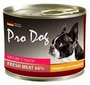 Корм для собак Pro Dog Для собак говядина с картофелем консервы