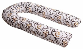 Наволочка Body Pillow на подушку для беременных U поликоттон