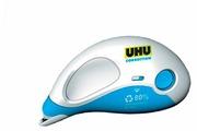 UHU Корректирующий роллер со сменной кассетой 4,2 мм х 12 м