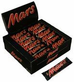 Батончик Mars с нугой и карамелью, 50 г, коробка