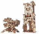 Сборная модель UGEARS Башня-аркбаллиста