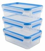 EMSA Набор из 3 контейнеров CLIP & CLOSE 508558