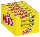 Батончик Nuts с цельным фундуком, 50 г, коробка